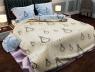 """Семейный набор хлопкового постельного белья из Бязи """"Gold"""" №154214AB Черешенка™"""