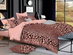 Полуторный набор постельного белья 150*220 из Ранфорса №18819 Черешенка™