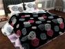 """Ткань для постельного белья Бязь """"Gold"""" Lux GL057 (A+B) - (50м+50м)"""