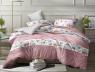 Евро макси набор постельного белья 200*220 из Ранфорса №18694AB Черешенка™