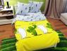 """Ткань для постельного белья Бязь """"Gold"""" Lux """"Кактусы"""" GL955 (A+B) - (50м+50м)"""