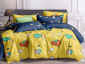"""Семейный набор хлопкового постельного белья из Бязи """"Gold"""" №151250AB Черешенка™"""