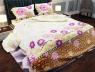 """Ткань для постельного белья Бязь """"Gold"""" Lux """"Цветочный принт (стилизированный)"""" GL633"""