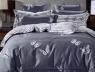 Двоспальний набір постільної білизни 180*220 із Сатину №1915AB Черешенька™