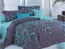 """Семейный набор хлопкового постельного белья из Бязи """"Gold"""" с простынью на резинке №149844AB Черешенка™"""