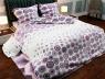 """Ткань для постельного белья Бязь """"Gold"""" Lux """"Геометрический принт (круг мелкий)""""  GL868"""