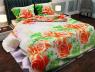 """Ткань для постельного белья Бязь """"Gold"""" Lux """"Цветочный принт (розы)""""GL562"""