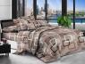 Евро макси набор постельного белья 200*220 из Ранфорса №18010 Черешенка™