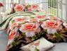 Семейный набор хлопкового постельного белья из Ранфорса №18858 Черешенка™