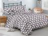 Семейный набор хлопкового постельного белья из Ранфорса №18666AB Черешенка™