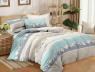 Двуспальный набор постельного белья 180*220 из Сатина №393AB Черешенка™