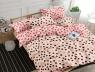 Полуторный набор постельного белья 150*220 из Сатина №1084AB Черешенка™