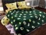 """Семейный набор хлопкового постельного белья из Бязи """"Gold"""" №151328AB Черешенка™"""
