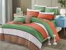 Двуспальный набор постельного белья 180*220 из Сатина №1776 Черешенка™
