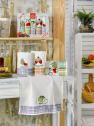 Набор кухонных полотенец Nilteks Ekose Meyveli 40*60 (5 шт)