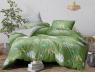 Двуспальный набор постельного белья 180*220 из Сатина №1757AB Черешенка™