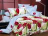 Семейный набор хлопкового постельного белья из Ранфорса №181687 Черешенка™