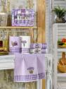 Набор кухонных полотенец Nilteks Ekose Lavanta 40*60 (5 шт)