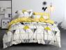 Двуспальный набор постельного белья 180*220 из Сатина №0726AB Черешенка™
