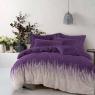 """Ткань для постельного белья Бязь """"Gold"""" Lux """"Сердечный ритм (фиолетовый)"""" GL3878"""