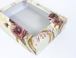 Упаковка для постельного белья (подарочная коробка) - вариант 12