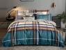 Семейный набор хлопкового постельного белья из Ранфорса №18693AB Черешенка™