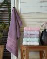 Комплект махрових банних рушників CESTEPE BERIL (140*70)