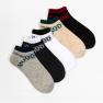 Мужские носки короткие Nicen (10 пар) 41-47 №F553-25