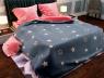 """Семейный набор хлопкового постельного белья из Бязи """"Gold"""" №154131AB Черешенка™"""