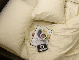 Двуспальные комплекты из страйп-сатина