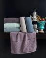 Комплект махрових банних рушників CESTEPE DELINA (140*70)