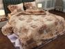 """Семейный набор хлопкового постельного белья из Бязи """"Gold"""" №15205 Черешенка™"""