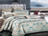Двоспальний набір постільної білизни 180*220 із Жакарду №018AB KRISPOL™