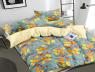 Полуторный набор постельного белья 150*220 из Сатина №1063AB Черешенка™