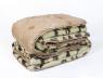 Двуспальное одеяло-плед верблюжья шерсть №42002