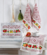 Набор кухонных полотенец Nilteks Pietra Meyveli 40*60 (3 шт)