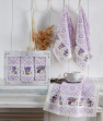 Набор кухонных полотенец Nilteks Pietra Lavanta 40*60 (3 шт)
