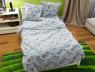 """Ткань для постельного белья Бязь """"Gold"""" Lux детская """"Котики"""" GLB150"""