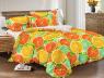Двуспальный набор постельного белья 180*220 из Сатина №364 Черешенка™