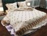 """Ткань для постельного белья Бязь """"Gold"""" Lux """"Геометрический принт"""" GL013"""