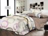 Євро-максі набір постільної білизни 200*220 із Ранфорсу №182022AB Черешенька™