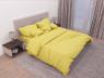"Ткань для постельного белья Бязь ""Gold"" Lux однотонная GL1018yellow (50м)"