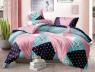 Семейный набор хлопкового постельного белья из Ранфорса №183118 Черешенка™