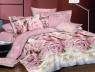 """Семейный набор хлопкового постельного белья из Бязи """"Gold"""" с простынью на резинке №144491AB Черешенка™"""