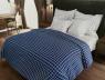 """Двуспальный набор постельного белья 180*220 из Бязи """"Gold"""" с простынью на резинке №147418AB Черешенка™"""