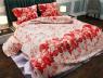 """Ткань для постельного белья Бязь """"Gold"""" Lux """"Цветочный принт (стилизация)"""" GL1040"""