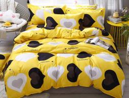 """Полуторный набор постельного белья 150*220 из Бязи """"Gold"""" №1541541 Черешенка™"""