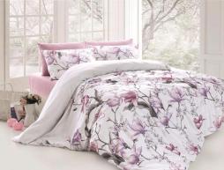 Семейный набор хлопкового постельного белья из Ранфорса Layla Lila First Choice™