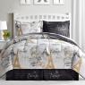 """Ткань для постельного белья Бязь """"Gold"""" Lux """"Парижское путешествие"""" GL1652 (A+B) - (50м+50м)"""