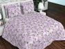 """Тканина для постільної білизни Бязь """"Gold"""" Lux """"Квітковий принт (рожевий)"""" GL2938"""